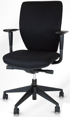 Budget bureaustoel zwart